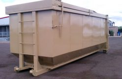 25 Yard Hard Top Steel Roll of Boxes