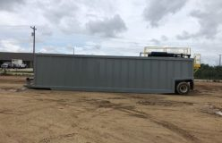 REAR STAIRS GAS BUSTER FRAC TANK